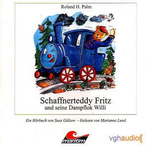Schaffnerteddy-Fritz-und-seine-Dampflok-Willi-Hoerbuch-CD-NEU-OVP-B-WARE