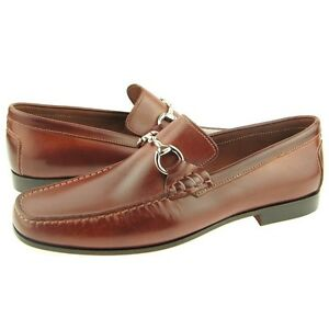 d95c97532f3 Image is loading Daniele-Lepori-Leather-Bit-Loafer-Men-039-s-