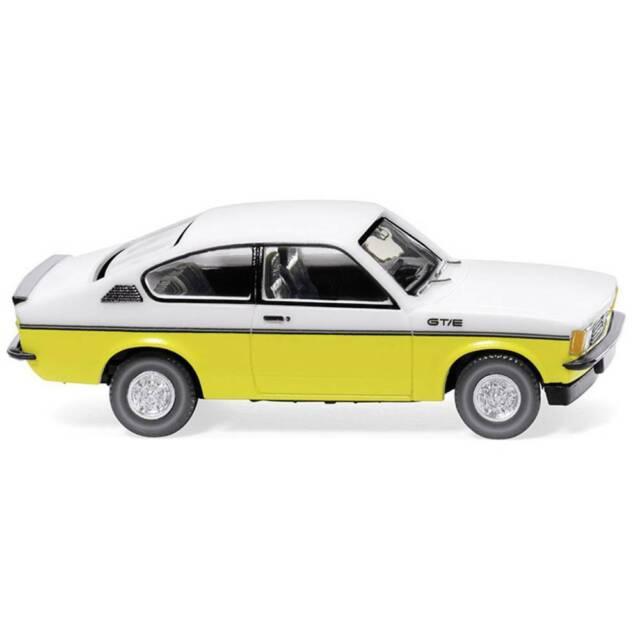 weiss//gelb Wiking 22902 Opel Kadett C Coup GT//E