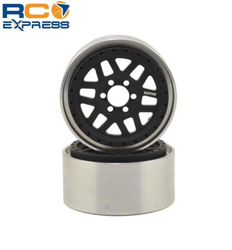 Vanquish 2.2 Aluminio KMC XD229 Machete beadlock Ruedas Negro VPS08040