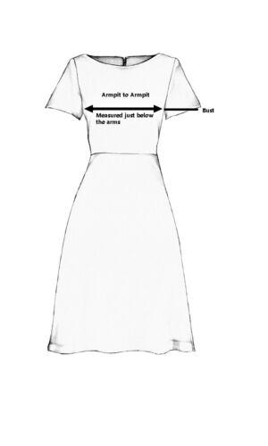 UK STOCK-Femmes Noir Casual Indian Short Kurti Tunique Kurta Top Robe chemise 40HB