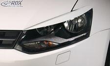 RDX Scheinwerferblenden VW Polo 6R Böser Blick Blenden Spoiler Tuning
