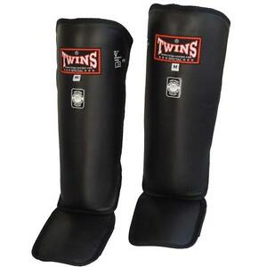 Twins-Schienbeinschutz-Deluxe-SG-3-aus-Leder-Kickboxen-Muay-Thai-MMA-K1
