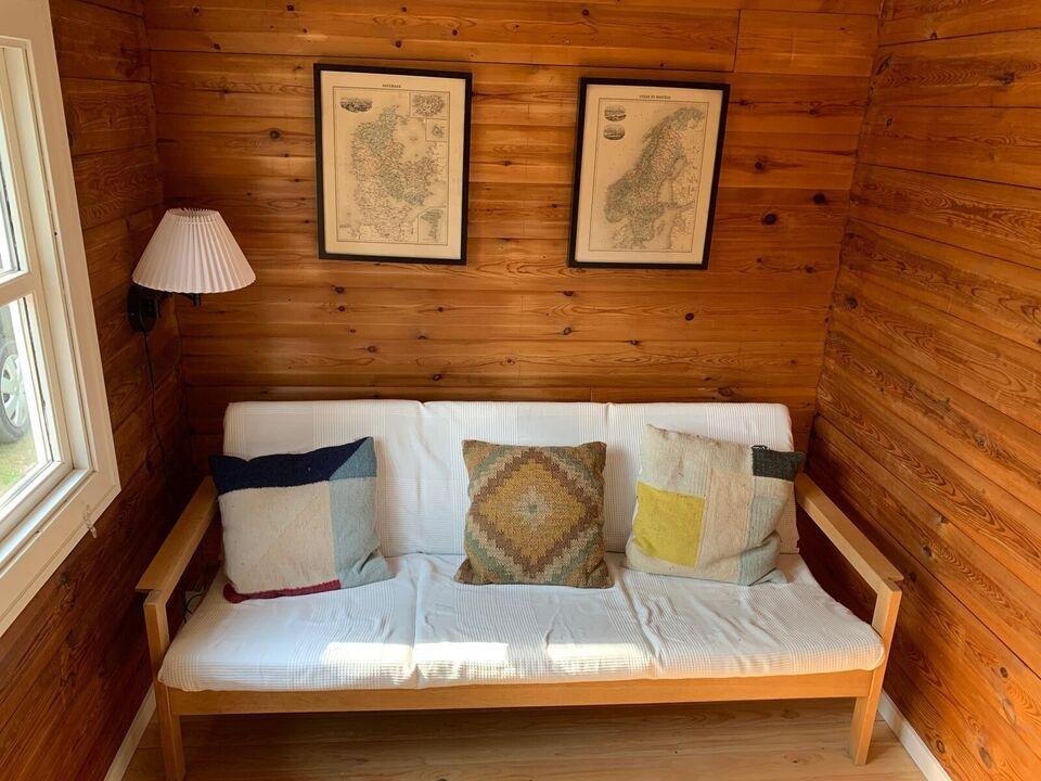 Sofa, træ, 3 pers.