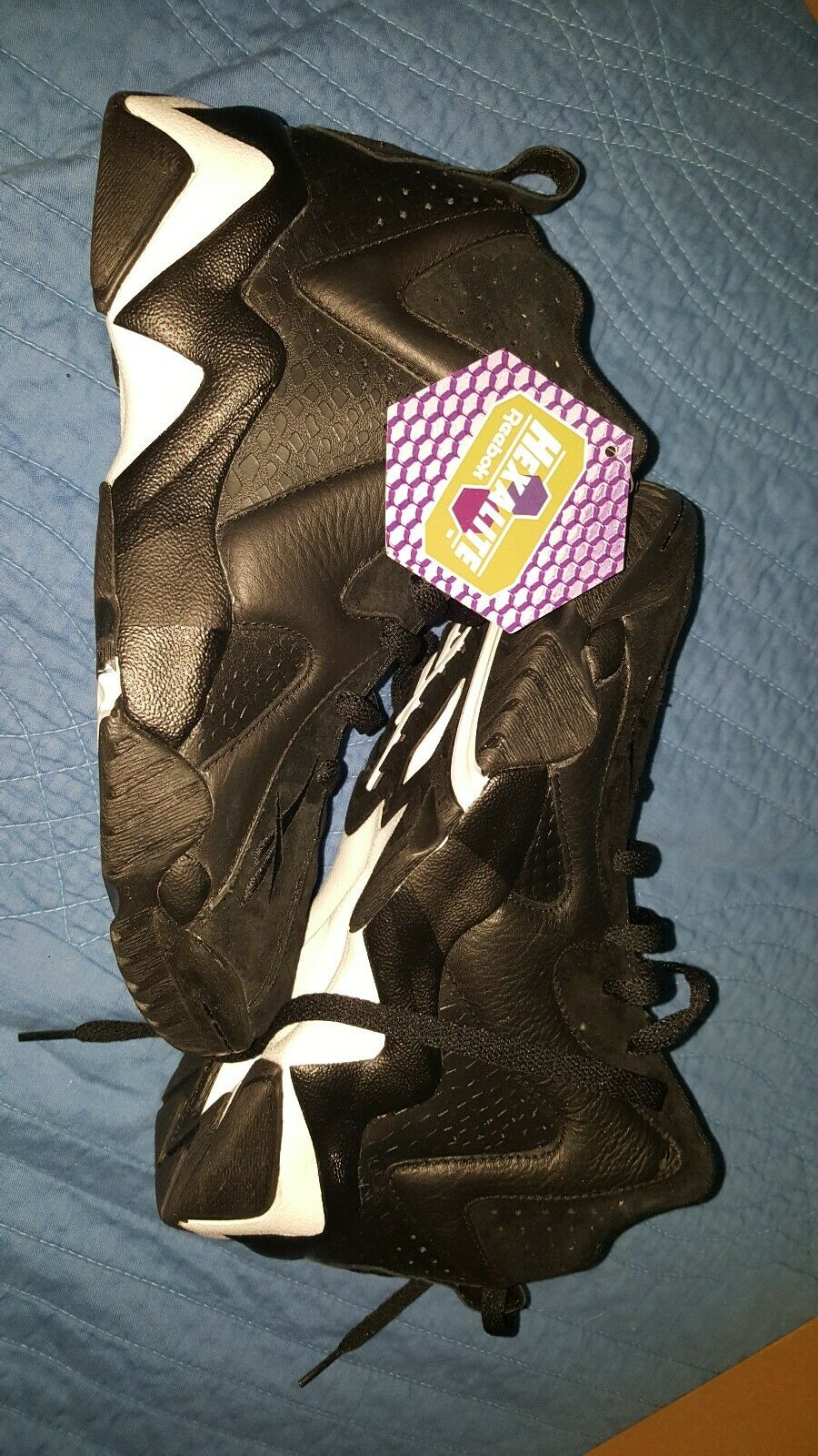 Reebok Kamikaze ii ATL LAX Kemp 8 Black Retro Men Basketball