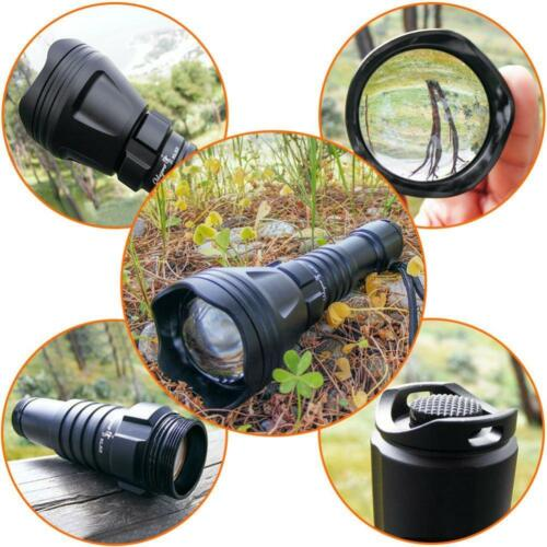 Odepro KL52Plus Zoomable Hunting Flashlight with Red Green White and IR850...
