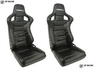 DEFENDER-CORBEAU-SPORTLINE-RRS-LOW-BASE-VINYL-SEATS-PAIR-DA7310