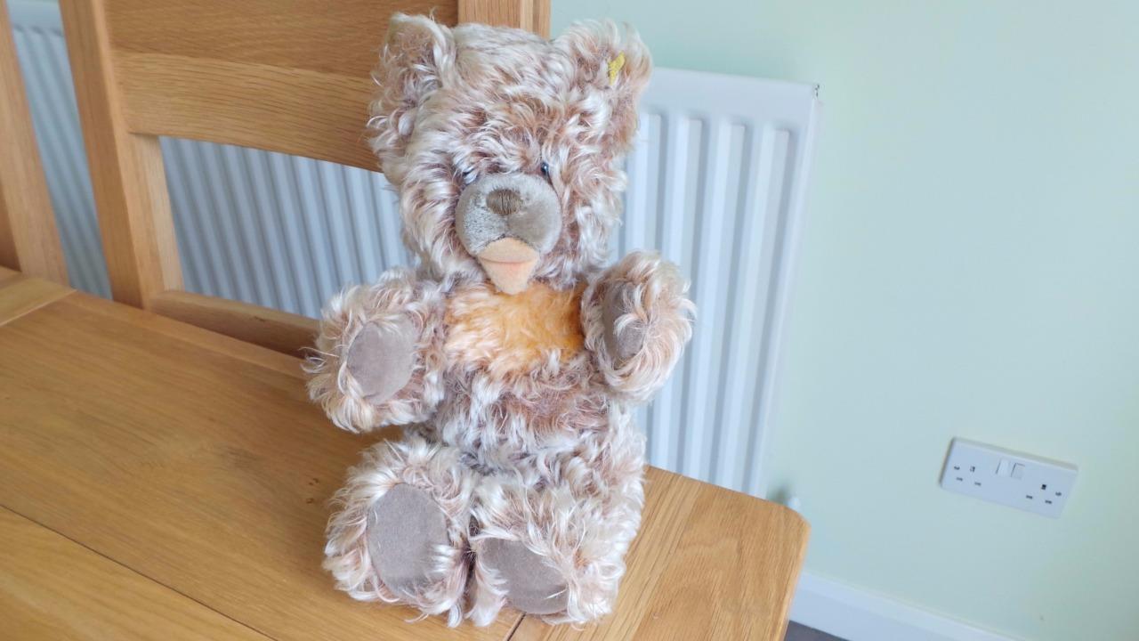 Za255   Steiff Vintage Zotty 12  Plush Teddy Bear