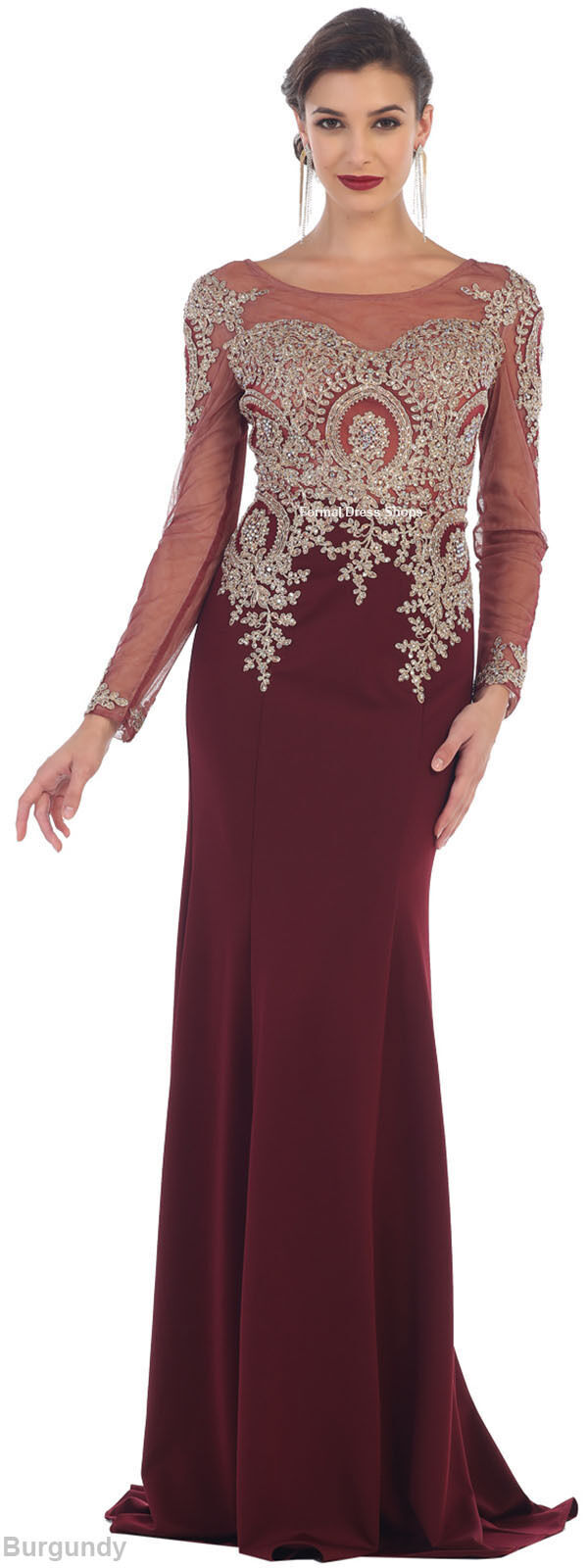 Modern Formal Attire: FORMAL PROM DRESSES STRETCHY EVENING MODERN MOTHER Of THE