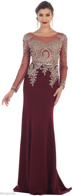 Formal Prom Dresses Stretchy Evening Modern Mother of The Bride ...