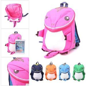 2d106036c6 Image is loading Cute-Cartoon-Kid-Toddler-Backpack-Kindergarten-Schoolbag-3D -