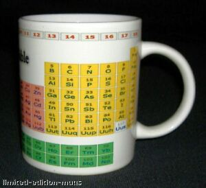 The periodic table of elements mug scientific chemistry ebay image is loading the periodic table of elements mug scientific chemistry urtaz Gallery