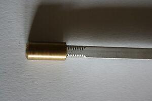 Trussrod Stahl Top  76 Gramm leicht  Fender Style für gebogene Trussrodnut