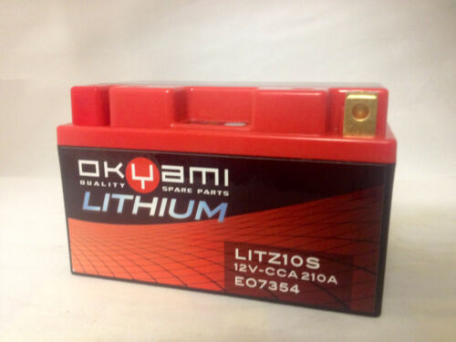 Batteria Okyami Litio LITZ10S = YTZ10-S YTZ10S Yamaha T-Max TMax 500 2008//2011