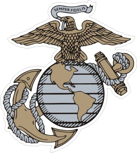 USMC Marine Corps 3 Decal Sticker
