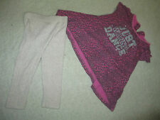 070 baby set top & leggins Matalan Young dimension  size 12-18 months
