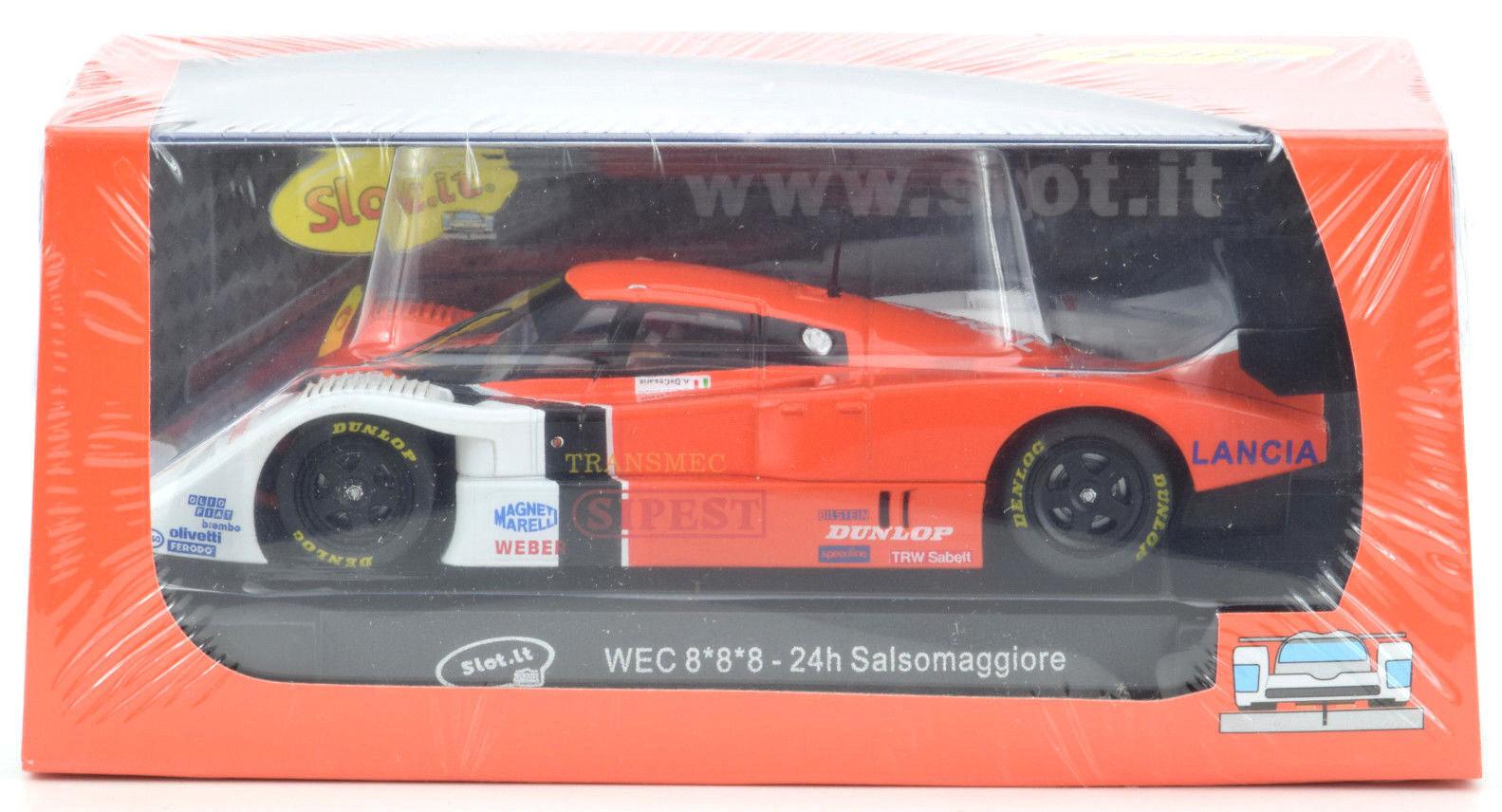 Slot It Zoll Sipest Lancia Lc2 - Wec 24hr Salsomaggiore 1 32 Maßstab Slotcar