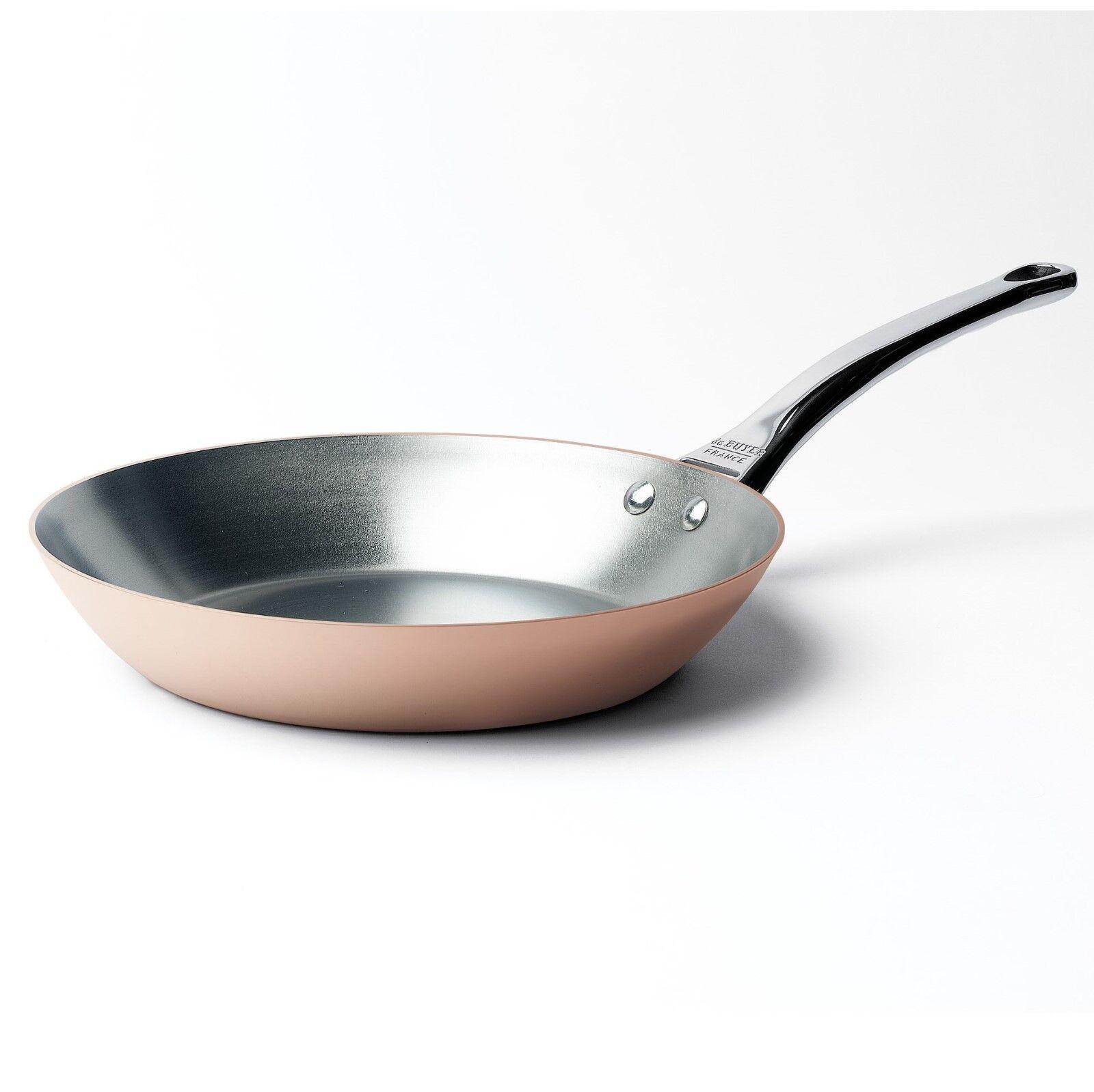 De Buyer Prima Matera Cuivre Casserole 28 cm intérieur en acier inoxydable, pour induction