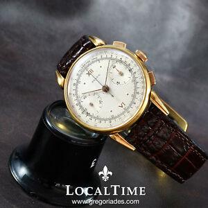 40s-REVUE-Swiss-Revue-Thommen-Vintage-Dress-Chronograph-Watch-Angelus-Cal-215