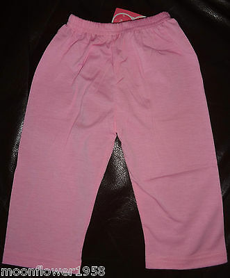NEU Leggings Pink Capri Leggings Girls Kinderhose Caprihose Mädchen Hose 98 -152