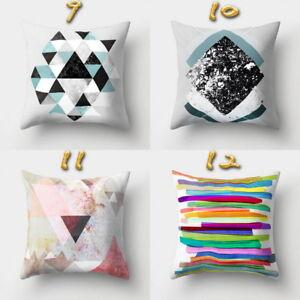 Creation-Boho-Geometric-Pillow-Case-Waist-Cushion-Cover-Sofa-Car-Home-Decor