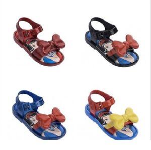 d56c5b537922 2019 Snow White Kids Girls Mini Melissa Shoes Sandals US Size 7-11 ...