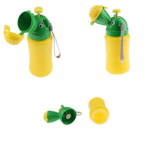 Baby Portable Urinal Travel Car Toilet Kids Boys Vehicular Potty Yellow