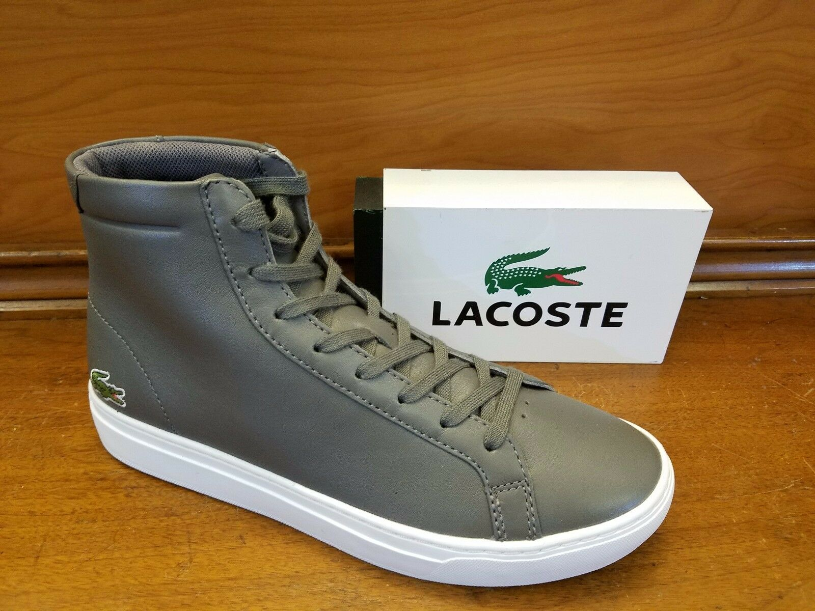 Lacoste Men's Sneakers L.12.12 MID 316 In DK Grey