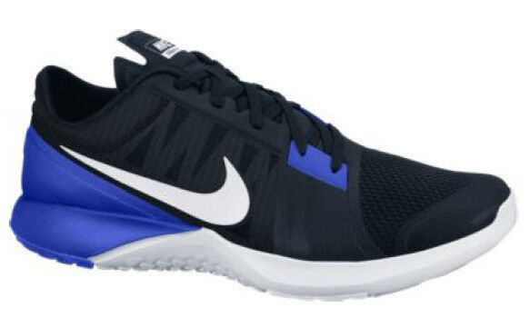 Zapatos casuales salvajes Nuevo nike FS Lite Trainer 3 caballeros zapatos de entrenamiento 807113-005 negro azul Sport
