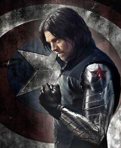 Captain America 3 Civil War Cosplay Men Winter Soldier Bucky Barnes Armor Arm