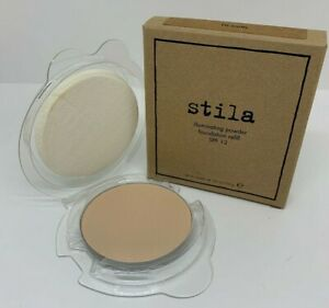 Stila-Illuminating-Powder-Foundation-Refill-with-Sponge-10-Watts-NIB-m