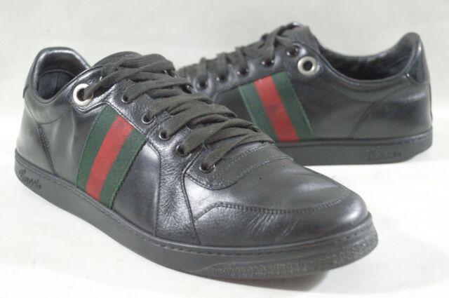 Gucci 283115 Leather Web Stripe