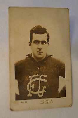 Carlton - 1922 - J.J Schuh - Leading Footballers Series - J. Russell.