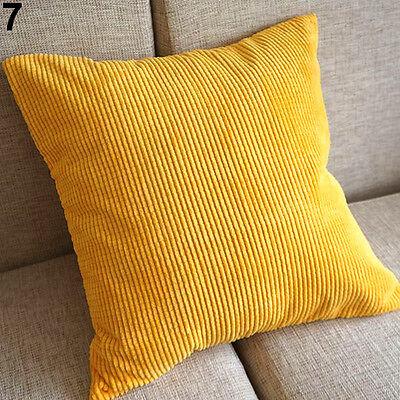 Classic Cool Corn Kernels Corduroy Sofa Decor Pillow Case Cushion Cover Square
