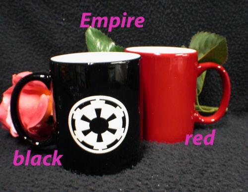 Pick YOUR side Star War Coffe Mug Empire or Rebel Alliance Cool gift
