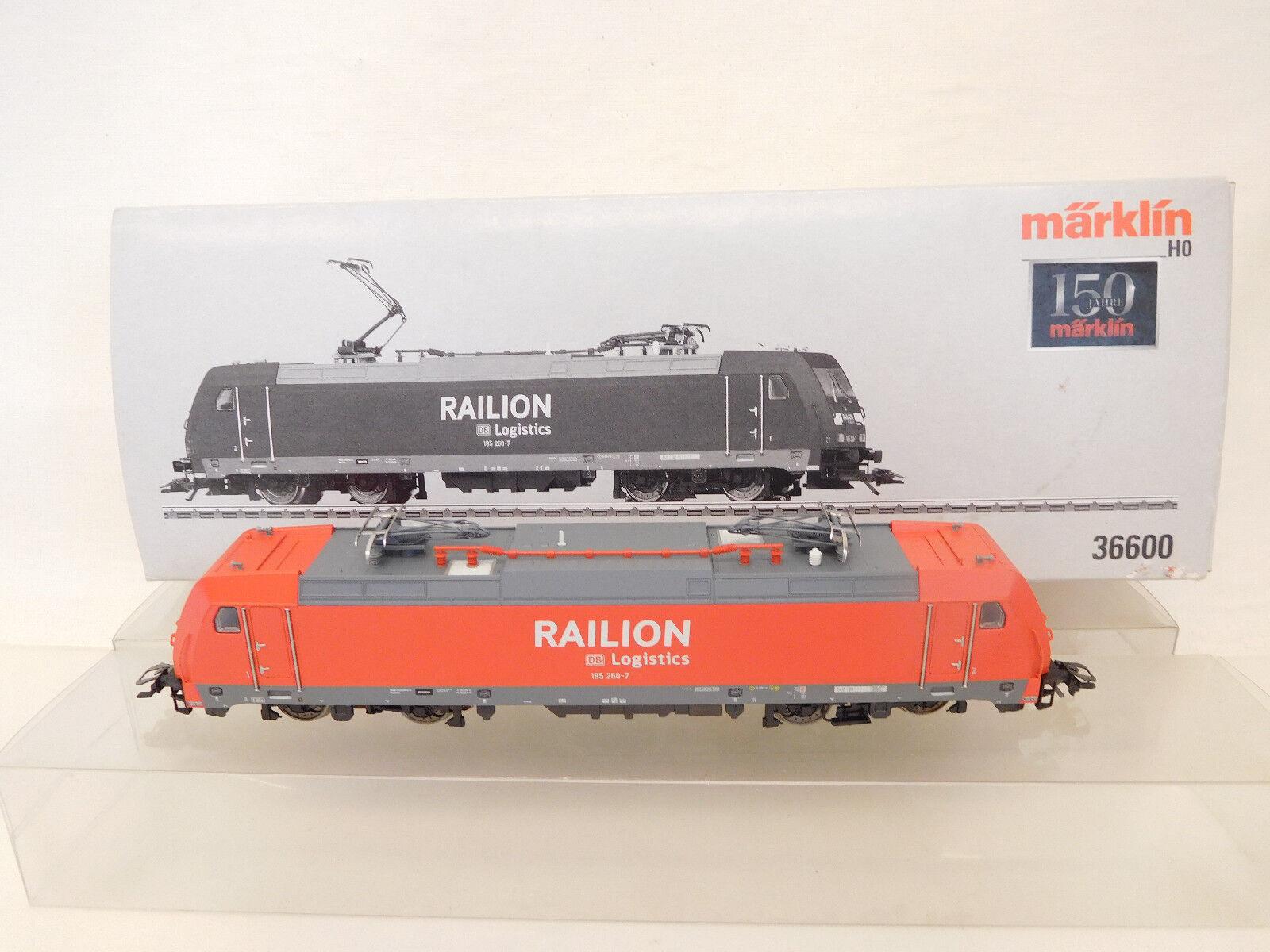 MES-59051 Märklin 36600 H0 E-LOK DB 185260-7, function tested,