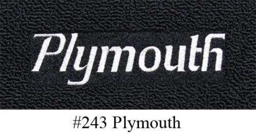 LoopFits Auto 1966-1970 Plymouth Satellite Floor Mats 4pc