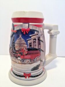 Budweiser-Beer-Stein-2001-Holiday-At-The-Capital-CS455SE-Signature-Edition-03873