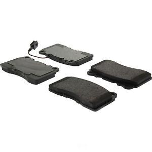 Disc Brake Pad Set-Premium Semi-Met Pads with Shims Front,Rear Centric 300.02250