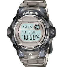 Casio Women's Baby-G Whale Clear Gray Watch BG169R-8
