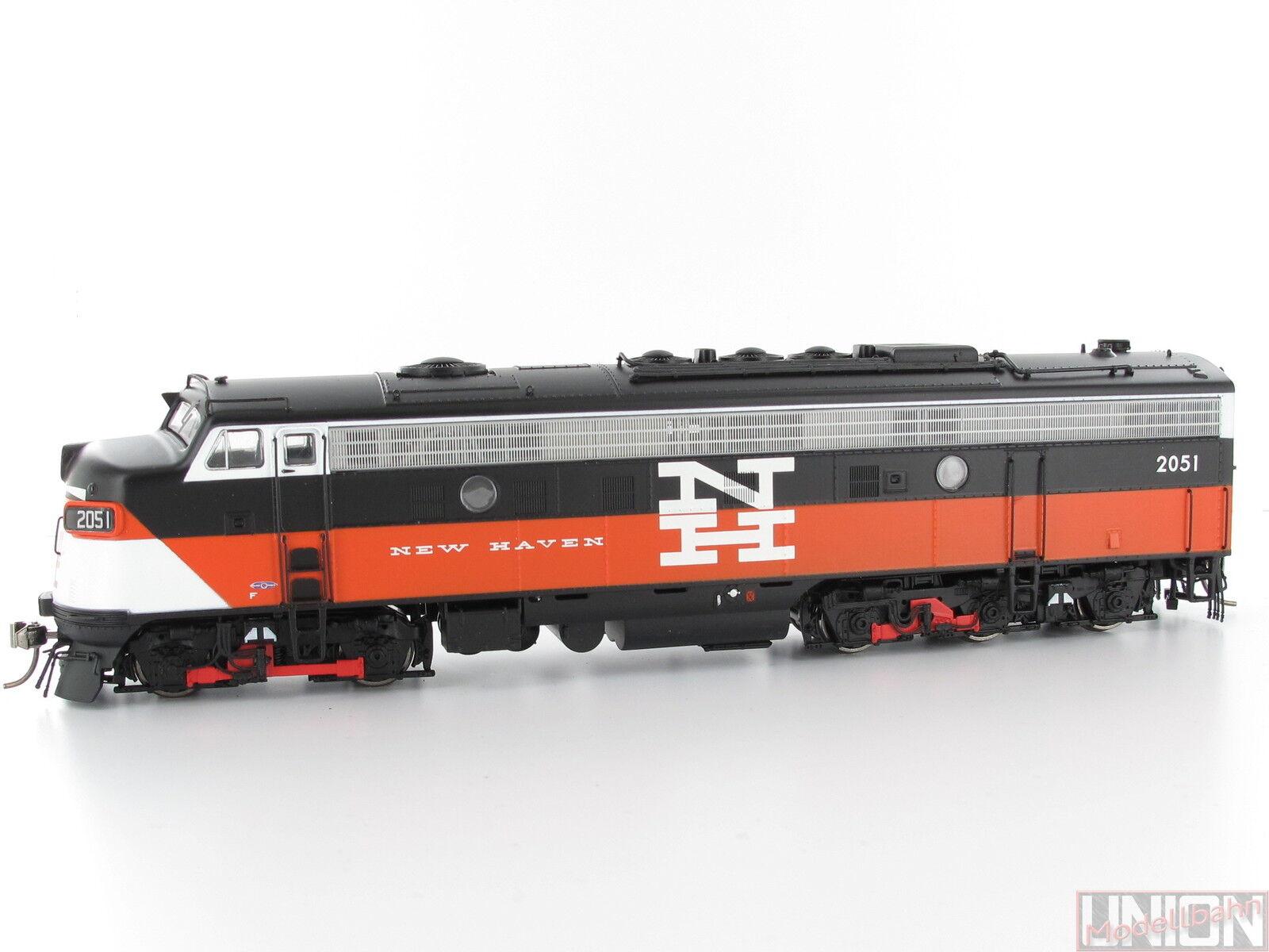 Rapido 14524 diesellok EMD f9 New Haven eder - 5a 2051 Digital Sound Spur h0