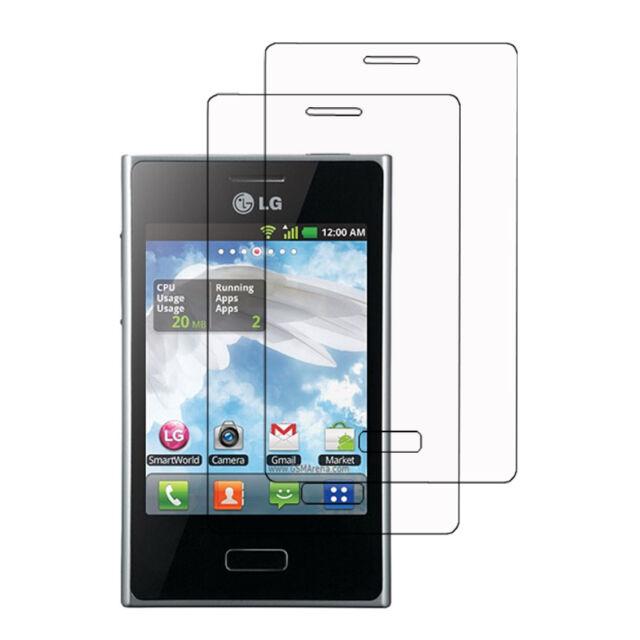 Transparente Displayschutzfolie für LG Optimus L3 E400
