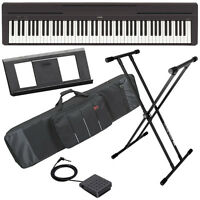 Yamaha P-45 Digital Piano - Black Stage Essentials Bundle on sale