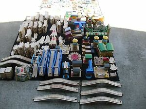 huge lot of  thomas  & friends wooden railway trains!! Real wood!!