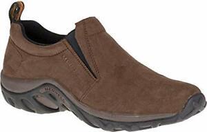 Merrell-Men-039-s-Jungle-Moc-Nubuck-Slip-On-Shoe-Brown-Nubuck-size-10-5-M-US