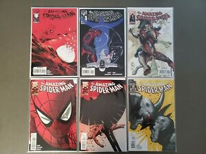Lot-of-6-Amazing-Spider-Man-620-625-Morbius-Rhino-Vulture-Mysterio-Marvel-VF-NM