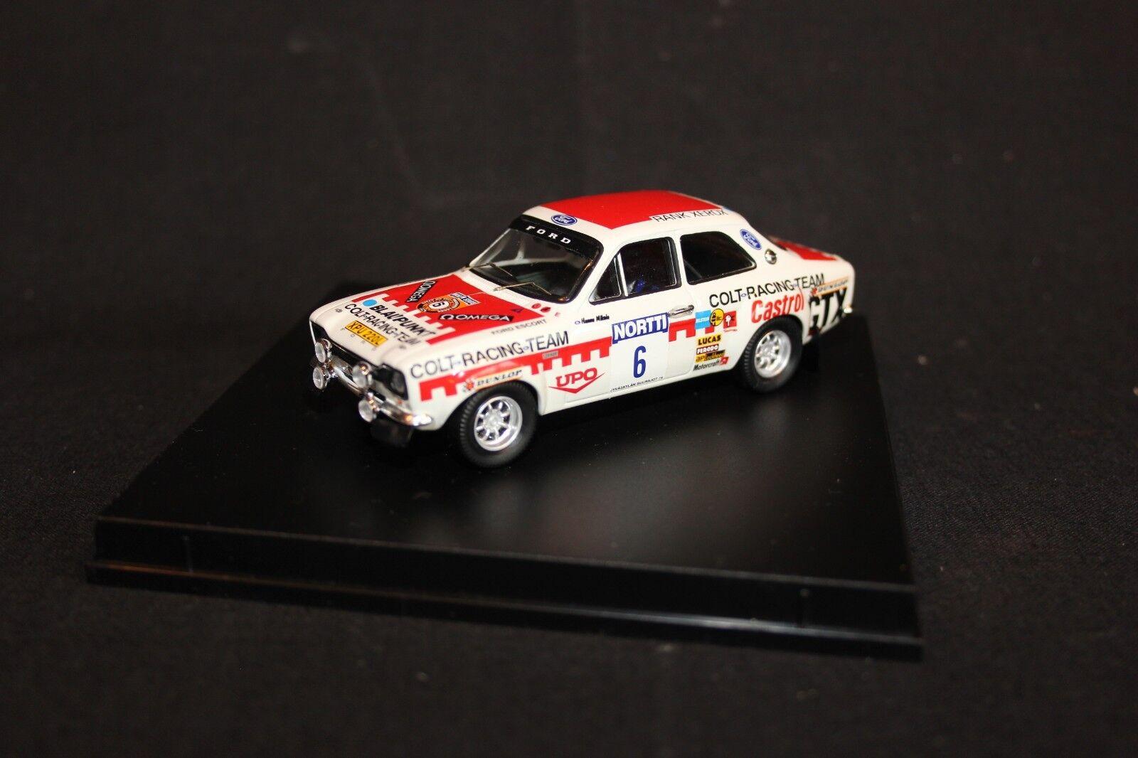 Troféu Ford Escort Mk1 1974 1 43 Mikkola   Davenport winners 1000 Lakes Rally