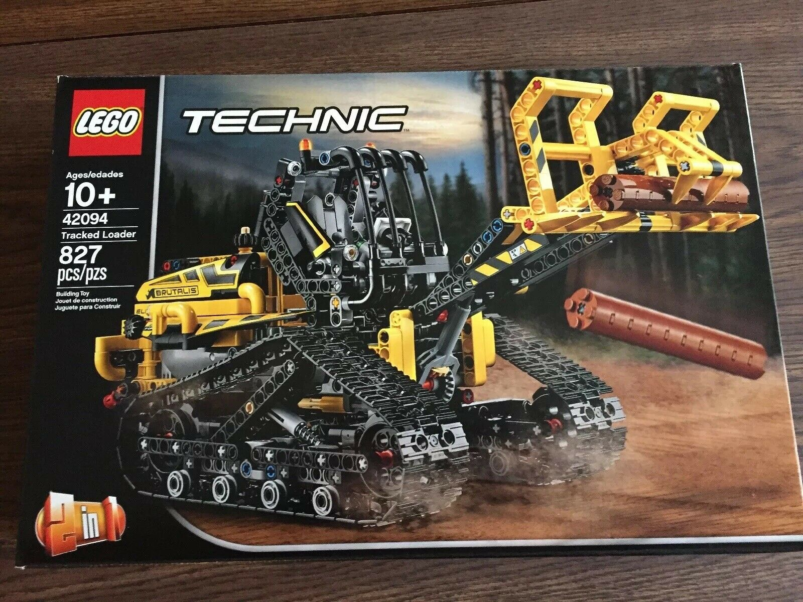 LEGO Technic Tracked Loader 42094 Building Kit, 2019 (827 Pieces) NEW Brutalis