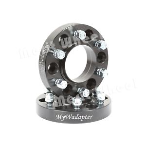 Merit-Wheel-Spacer-Adapters-Black-25-mm-5x114-3-2-PCS-Ford-Falcon-AU-BA-BF
