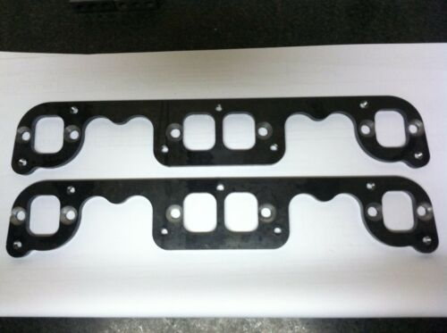 """STAHL ADAPTERS FOR SMALL BLOCK CHEVROLET  HEADER FLANGES  3//8/"""" THICK LASER CUT"""